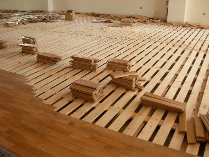 Ηρακλής  Στρατής - ξύλινα πατώματα - σχολή χορού