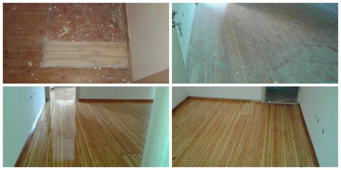 ΣΤΡΑΤΗ ΞΥΛΙΝΑ ΠΑΤΩΜΑΤΑ - ξύσιμο και γυάλισμα ξύλινων πατωμάτων