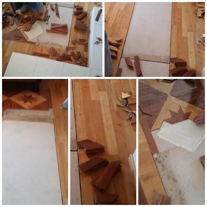 Επισκευή ξύλινου πατώματος, Ηρακλής Στρατής, Θεσσαλονίκη